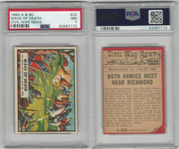 1965 A&BC, Civil War News, #22 Wave of Death, Seven Day Battle, PSA 7 NM