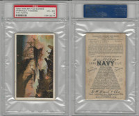 N99 Duke, Battle Scenes, Civil War, 1891, Farragut Passing Forts, PSA 4 VGEX