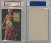 W424-2b Mutoscope, Artist Pin-Up Girls, 1945, How Do You Like, PSA 8 NMMT