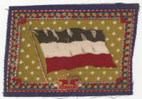 B6 Tobacco Flannel Insert, National Flags, 1910 (5X8 Inch), Germany