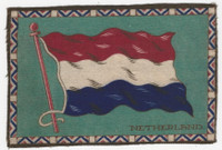 B6 Tobacco Flannel Insert, National Flags, 1910 (5X8 Inch), Netherlands