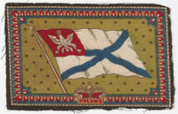 B6 Tobacco Flannel Insert, National Flags, 1910 (5X8 Inch), Poland