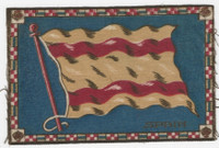 B6 Tobacco Flannel Insert, National Flags, 1910 (5X8 Inch), Spain