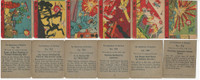 R99 Strip Card, Nightmare of Warfare, 1938, Lot, 901, 902, 903, 904, 905, 906