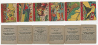 R99 Strip Card, Nightmare of Warfare, 1938, Lot, 907, 908, 909, 910, 913, 916