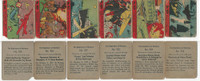 R99 Strip Card, Nightmare of Warfare, 1938, Lot, 925, 926, 927, 928, 929, 933
