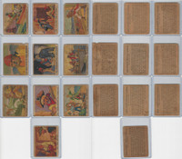 R109 Gum Inc, Pirate's Picture Gum, 1936, Lot of 10 Different