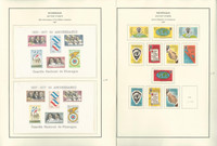Nicaragua Airmail Stamp Collection 1961-1968 on 24 Steiner Pages, JFZ