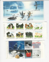 Finland, Postage Stamp, #925a, 1086a, 1094a Mint NH, Birds, Dogs, JFZ