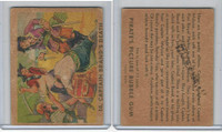 R109 Gum Inc, Pirate's Picture Gum, 1936, #14 Captain Brand's Death