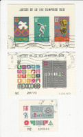 Mexico, Postage Stamp, #C342a, C344a, C374 Used, 1968-70, JFZ