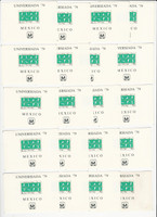 Mexico, Postage Stamp, #C614 Lot of 20 Sheets Mint NH, 1979, JFZ
