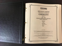 Germany DDR Scott Specialty Album, Binder, Dustcase, 1949-90, 250 Pages