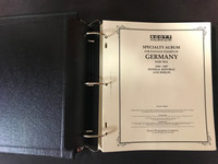 Germany Scott Specialty Album, Binder, Dustcase, 1949-94, 200 Pages