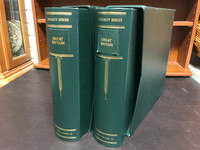 Lot of 2 Scott Specialty Binders & Dustcases, Three-Ring, Great Britain