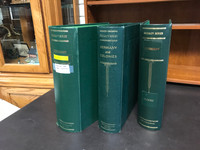 Lot of 3 Scott Specialty Binders, Two-Post, 3 Inch, Germany