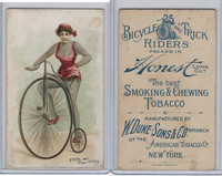 N100 Duke, Bicycle & Trick Riders, 1890, Pedal and Step Trick