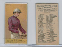 N22 Allen & Ginter, Racing Colors of the World, 1888, G.B. Morris (C)