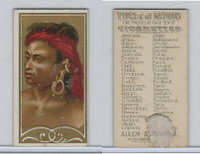 N24 Allen & Ginter, Types of all Nations, 1889, Borneo (B)