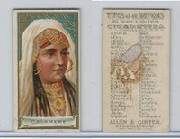 N24 Allen & Ginter, Types of all Nations, 1889, Cashmere (B)