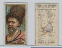 N24 Allen & Ginter, Types of all Nations, 1889, Tartary