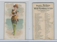 N187 Kimball, Fancy Bathers, 1889, Bar Harbor (B)