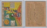 R89 Gum Inc, Mickey Mouse, Type 2, 1935, #80 Good Day, Juliet! (B)