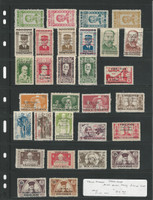 North Vietnam Stamp Collection on Stock Page, 1945-1948, Interesting Lot, DKZ