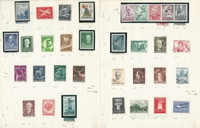 Austria Stamp Collection 1958 to 1976 on 21 Pages, Mint & Used, DKZ