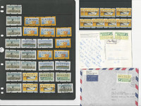 Germany Stamp Collection, Automated Stamps & Cover Lot, 22 Pages, DKZ