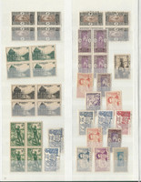 French Colonies Stamp Collection in Lighthouse Stockbook, DKZ