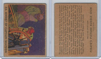 R109 Gum Inc, Pirate's Picture Gum, 1936, #33 Ghost Of Captain Watson