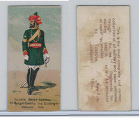 N224 Kinney 1887, Military, England, 2d Bengal Cavalry India