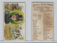 N165 Goodwin, Games & Sports, 1889, Coursing, Horse Race