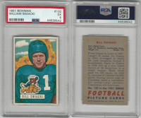 1951 Bowman Football, #132 William Swiacki, Lions, PSA 5 EX
