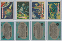 1957 Topps, Space Cards, Lot of Four, #28, 30, 36, 37 Sunset on Earth
