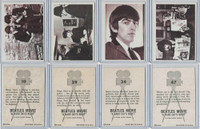 1964 Topps, Beatles Movie, Lot of Four, 10, 29, 34, 47
