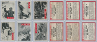 1965 Philadelphia, War Bulletin, World War II Lot of Six, 4, 5, 7, 12, 13, 14