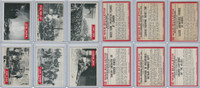 1965 Philadelphia, War Bulletin, World War II Lot of Six, 48, 49, 50, 51, 53, 54