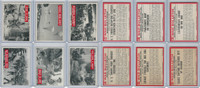 1965 Philadelphia, War Bulletin, World War II Lot of Six, 56, 61, 62, 63, 64, 65