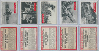 1965 Philadelphia, War Bulletin, World War II Lot of Five, 75, 76, 81, 82, 84