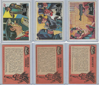 1966 Topps, Batman Black Bat, Lot of Three, 22, 24, 49