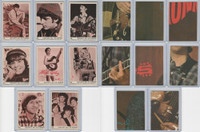 1967 Donruss, The Monkees, Sepia Series, Lot of 8, 35, 36, 39, 40, 41, 42-44
