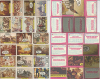 1975 Topps, Hysterical History, Lot of 20 Different, Washington, Robert E Lee