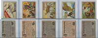1950 Topps, Bring 'Em Back Alive, Africa, Animals Lot of Five, 12, 17, 18, 22, 25