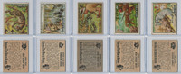 1950 Topps, Bring 'Em Back Alive, Africa, Animals Lot of Five, 66, 69, 70, 76, 78