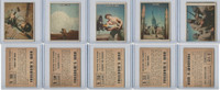 1950 Topps, Freedoms War, Lot of Five, 108, 109, 110, 111, 112 US Army