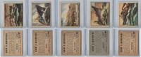 1950 Topps, Freedoms War, Lot of Five, 170, 172, 173, 174, 176 Ships