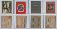 1950 Topps, Freedoms War, Lot of Five, 177, 178, 180, 181 Insignia
