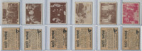 1950 Topps, Hopalong Cassidy, Lot of Six, 28, 30, 31, 41, 42, 49